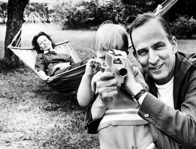 Bergman, suo figlio, la telecamera