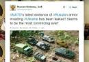 L'ambasciata russa negli Emirati Arabi Uniti si prende gioco della NATO su Twitter
