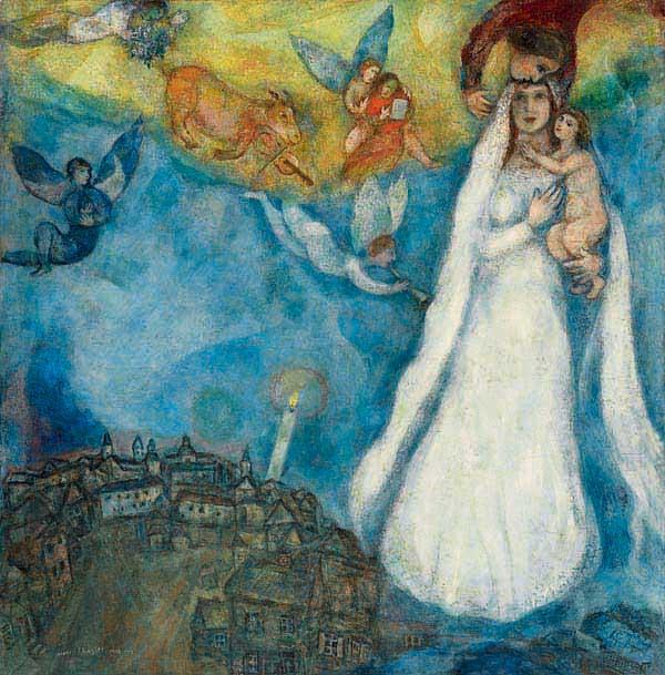I quadri di Marc Chagall a Milano - Il Post
