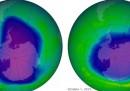 Il buco dell'ozono si sta restringendo?