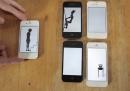 Video musicale in 14 schermi