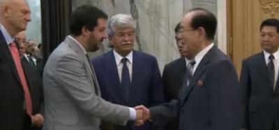 Razzi e Salvini in Corea del Nord