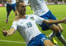 Norvegia-Italia 0-2