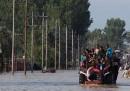 Le foto dell'alluvione tra India e Pakistan