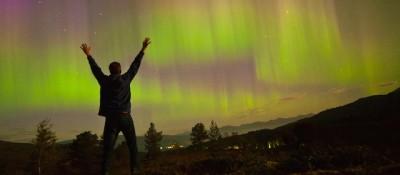 Le foto spettacolari dell'aurora boreale