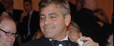 Foto di Clooney venuto male