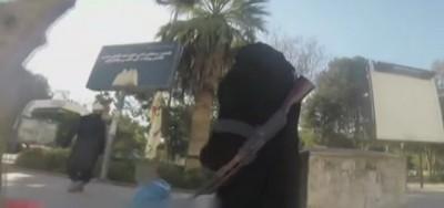 Per le strade di Raqqa