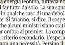 La debolezza di Renzi