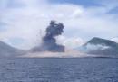 Il video dell'eruzione del vulcano Tavurvur, in Papua Nuova Guinea