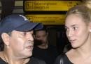 Il video di Maradona che litiga con la sua ex