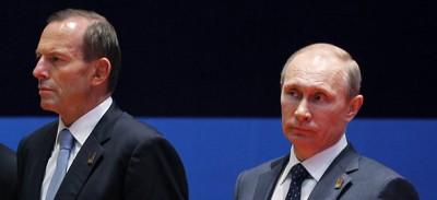 Le intenzioni di Tony Abbott con Putin