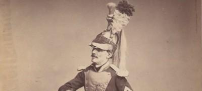 Fotografie di veterani di guerra nel 1858
