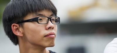 Il più giovane leader delle proteste di Hong Kong