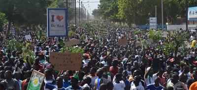 Le storiche proteste in Burkina Faso