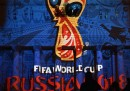 Il logo dei Mondiali di Russia 2018