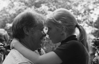 Jimmy Carter e la figlia Amy