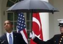 La questione dei militari con l'ombrello