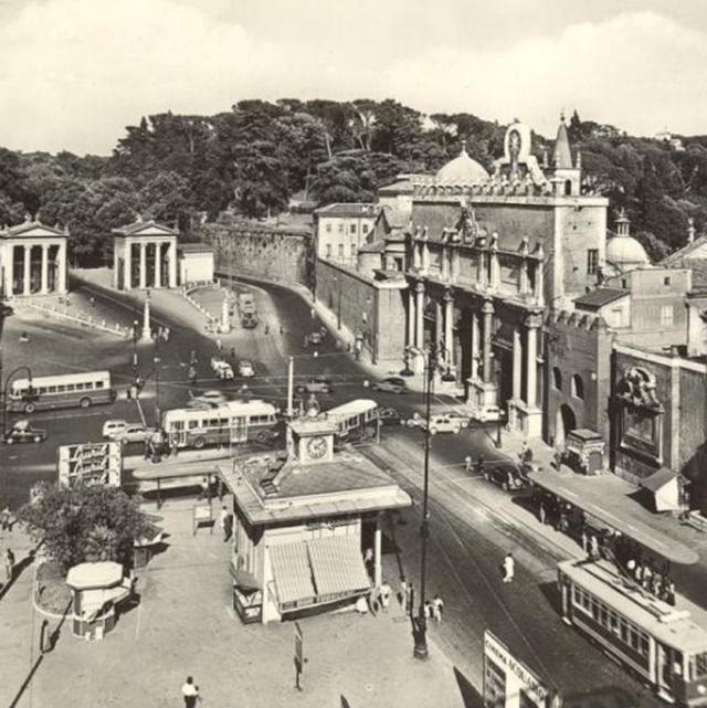 Piazzale Flaminio, 1960