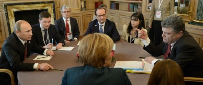 Com'è andato l'incontro Putin-Poroshenko