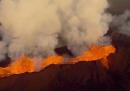 L'eruzione del vulcano Bardarbunga, vista da un drone