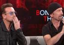 """Gli U2 a """"Che tempo che fa"""" - video"""