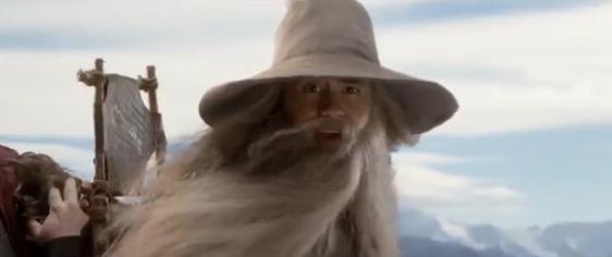 Il video per la sicurezza in volo del Signore degli Anelli