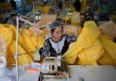 Dove si fanno le tute contro ebola
