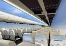 Gli aerei senza finestrini - video