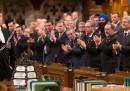 La giornata al parlamento del Canada