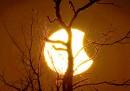 Le foto dell'eclissi solare