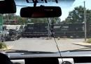 Lo scontro tra un camion e un treno in Louisiana - video
