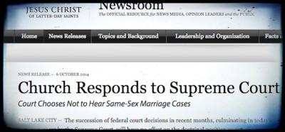 La Chiesa mormone sui matrimoni gay