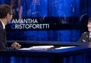 L'astronauta Samantha Cristoforetti a
