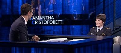 """L'astronauta Samantha Cristoforetti a """"Che Tempo Che Fa"""""""