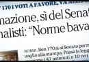 """Michele Serra dice che non ci sono """"leggi bavaglio"""""""