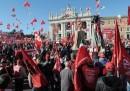 Le foto della manifestazione della CGIL a Roma