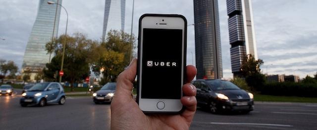 Uber Taxi App In Madrid