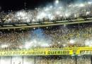 La fantastica coreografia dei tifosi prima di Boca Juniors-River Plate