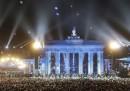 Le foto di domenica notte a Berlino