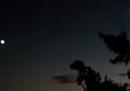 La meteora nei cieli del Giappone