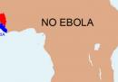 Una mappa di ebola per allarmisti