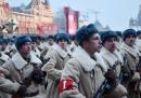 La parata per una parata a Mosca