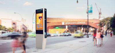 Le nuove cabine telefoniche di New York