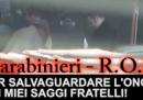 Il video con il rituale di giuramento della 'ndrangheta