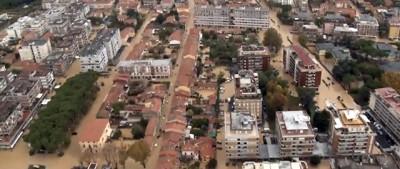 Le alluvioni in mezza Italia