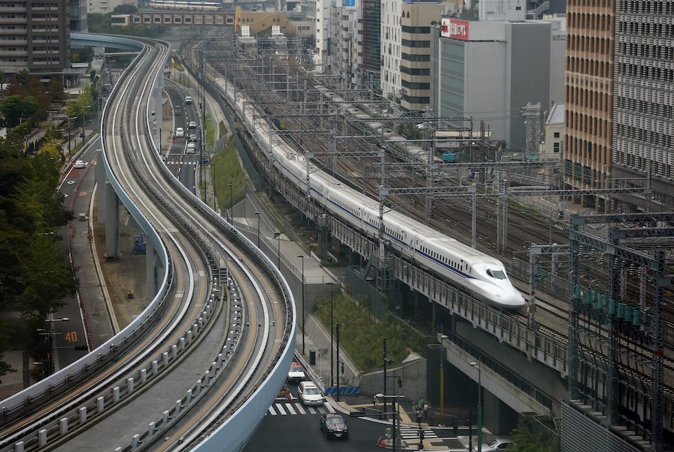 Il Nuovo Treno Superveloce In Giappone Il Post