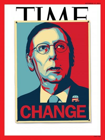 La copertina di Time sulla vittoria dei repubblicani