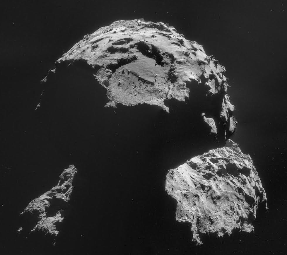 Foto cometa 67P/Churyumov–Gerasimenko - Missione Rosetta