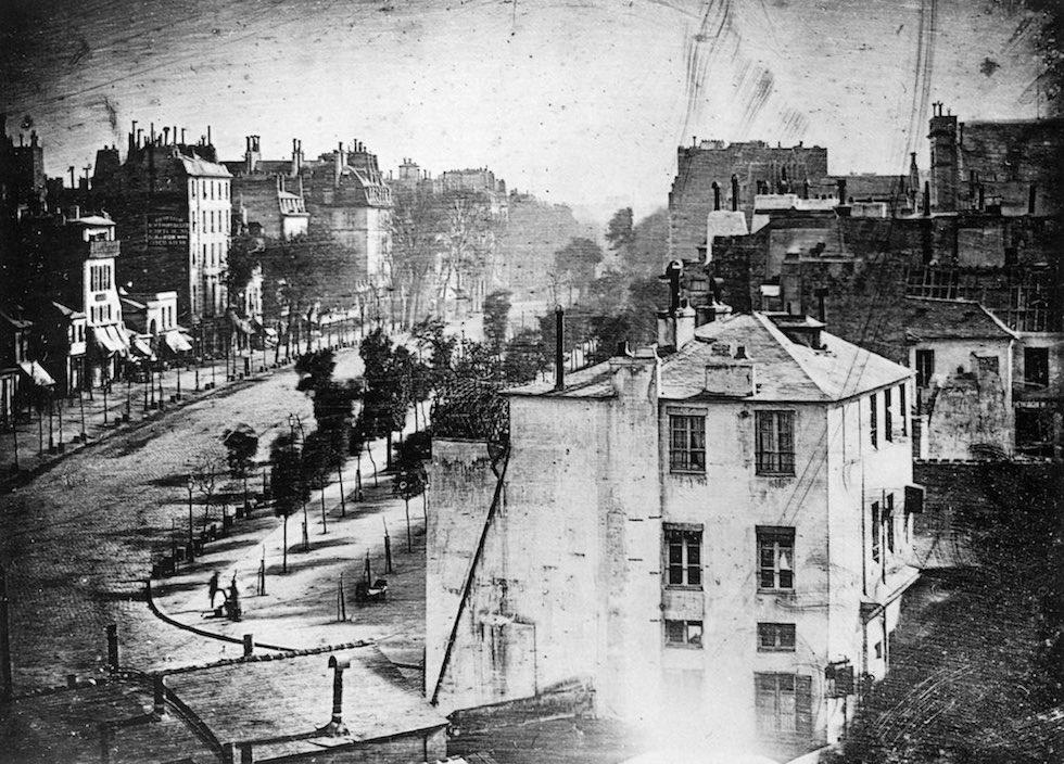 Louis Daguerre, 1838