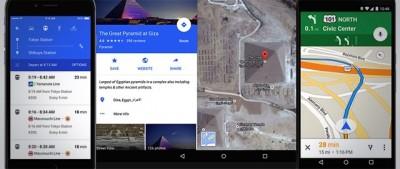 La nuova app di Google Maps